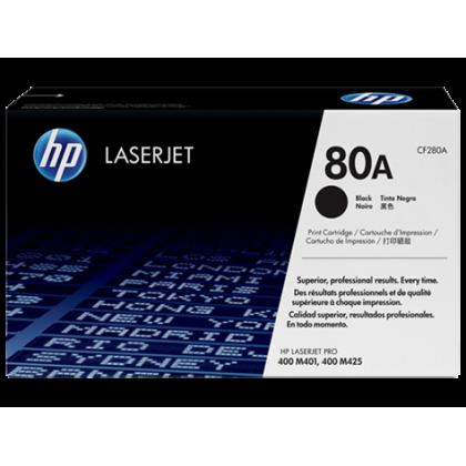 HP 80A LaserJet Toner Cartridge CF280A (Original)